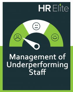 HR Elite free hr resource on management of underperforming staff