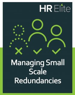 HR Elite free hr resource on managing small scale redundancies